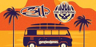 311, The Offspring e Gym Class Heroes em turnê