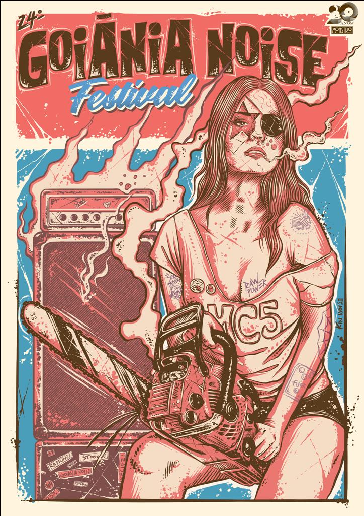 poster do goiânia noise festival 2018