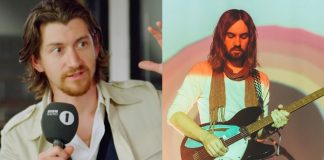 Alex Turner (Arctic Monkeys) e Kevin Parker