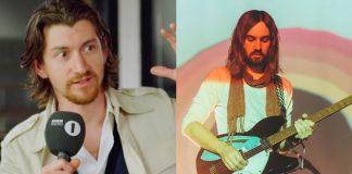 Alex Turner (Arctic Monkeys) e Kevin Parker