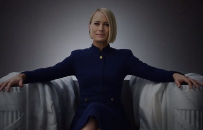 Claire no teaser de House Of Cards