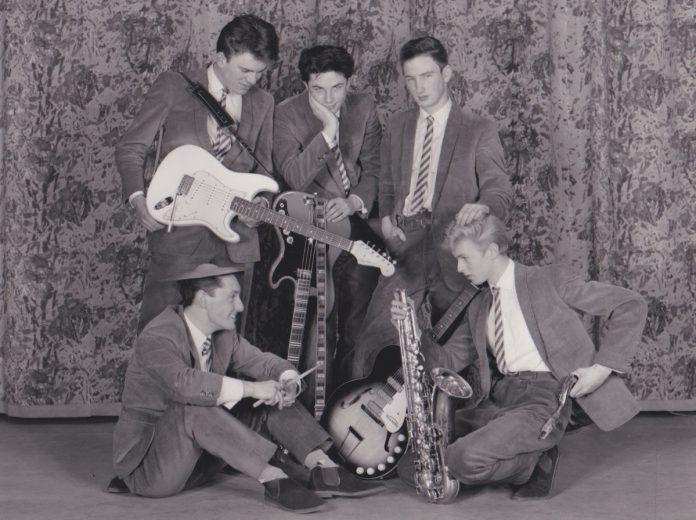 David Bowie com o The Konrads