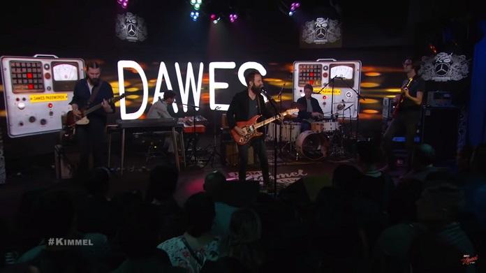 Dawes toca no Jimmy Kimmel Live