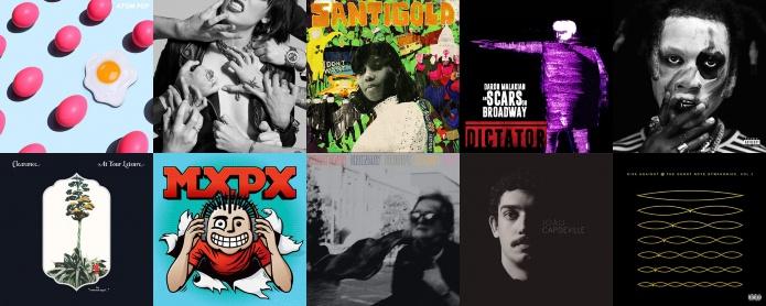 Lançamentos de discos de 2018