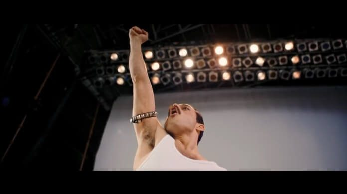 Rami Malek como Freddie Mercury no trailer de Bohemian Rhapsody
