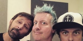 Tré Cool publica foto do Green Day