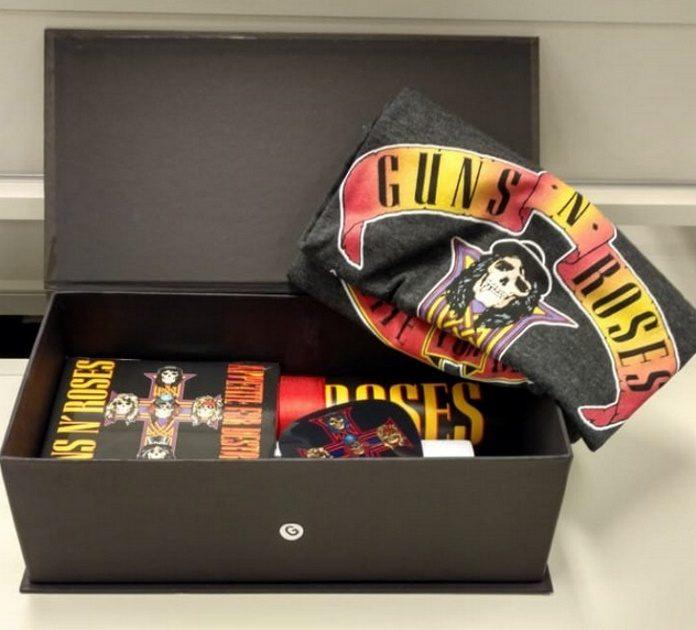 Kit do Guns N Roses