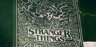 Labirinto de milho de Stranger Things