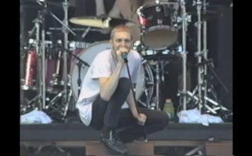 Layne Staley com o Alice In Chains no Lollapalooza