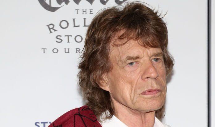 Mick Jagger em 2016