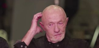 Mike Ehrmantraut na reunião do elenco de Breaking Bad