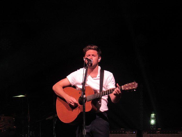 Niall Horan no KM de Vantagens Hall