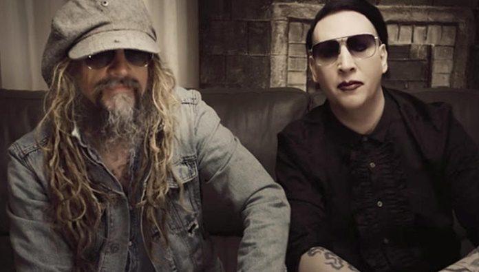 Rob Zombie e Marilyn Manson