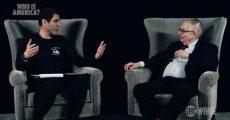 Sacha Baron Cohen no programa Who Is America