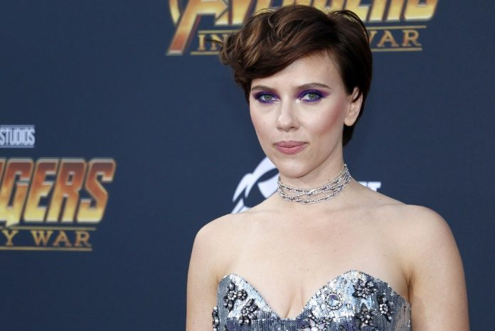 Scarlett Johansson, in the year 2018