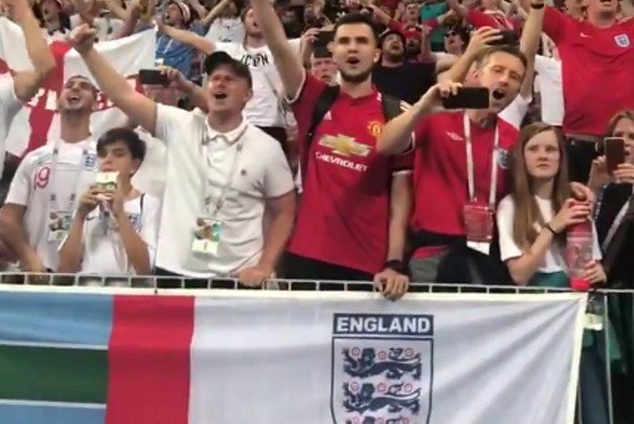 Torcedores da Inglaterra na Copa