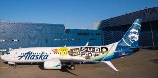 Avião da Sub Pop