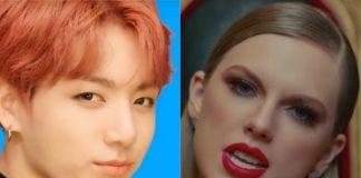 BTS (k-pop) e Taylor Swift