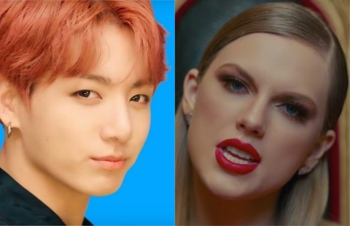 BTS (k-pop) e Taylor Swift