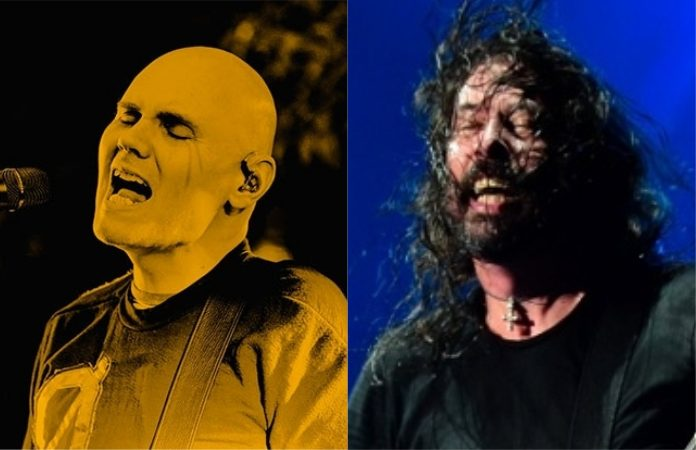 Billy Corgan e Dave Grohl