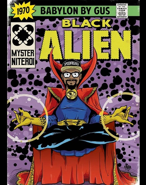 Black Alien quadrinhos