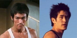 Bruce Lee e Mike Moh (filme do Tarantino)