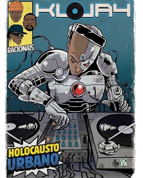 DJ KL Jay quadrinhos