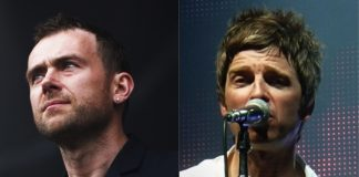 Damon Albarn e Noel Gallagher