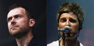 Damon Albarn e Noel Gallagher