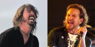 Dave Grohl e Eddie Vedder