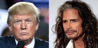 Donald Trump e Steven Tyler (Aerosmith)