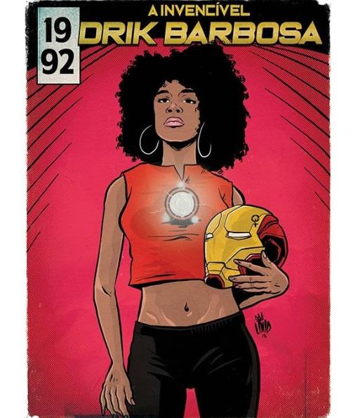 Drik Barbosa quadrinhos