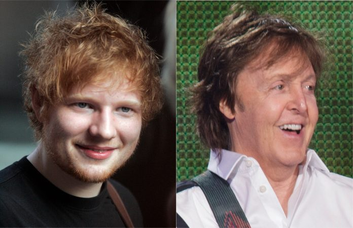 Ed Sheeran e Paul McCartney (Beatles)