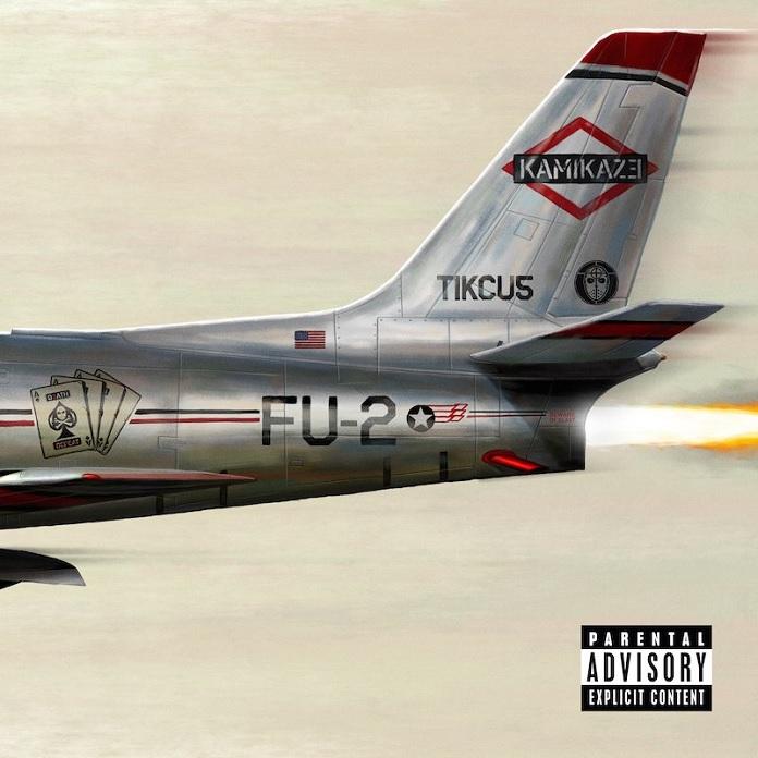 Eminem - Kamikaze Capa Frente