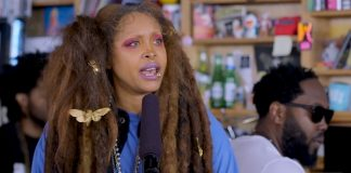 Erykah Badu Tiny Desk