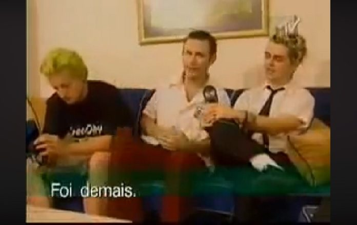 Green Day 1998 no Brasil