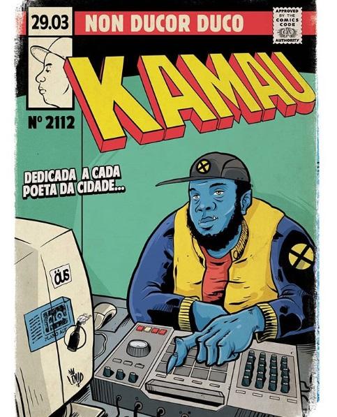 Kamau quadrinhos