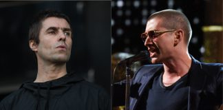 Liam Gallagher (Oasis) e Alex Turner (Arctic Monkeys)