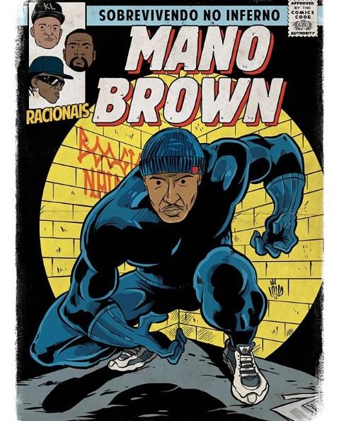 Mano Brown quadrinhos