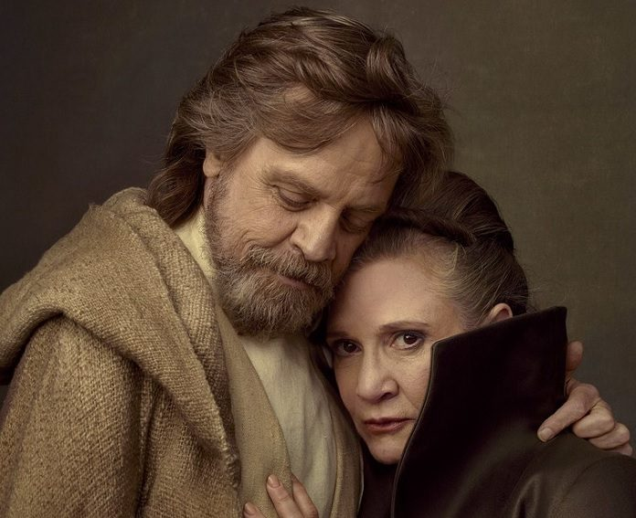 Mark Hamill e Carrie Fisher (Star Wars)