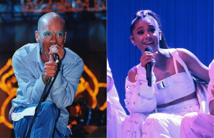 Michael Stipe (R.E.M.) e Ariana Grande