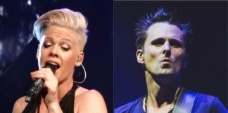 Pink (P!nk) e Matt Bellamy (Muse)