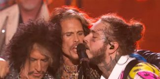 Post Malone e Aerosmith (Steven Tyler e Joe Perry)