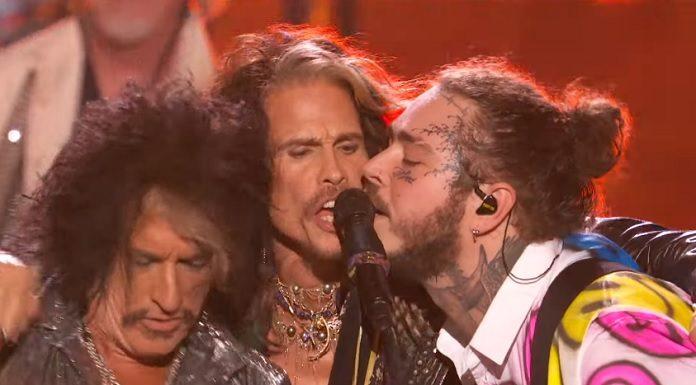 Post Malone e Aerosmith (Steven Tyler e Joe Perry)