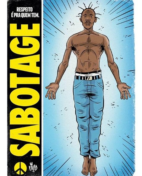 Sabotage quadrinhos