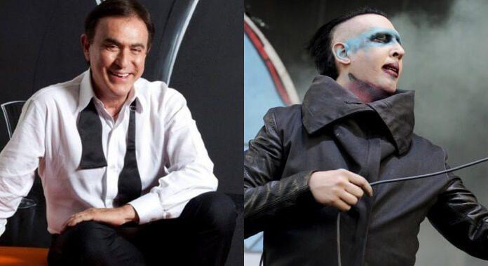 Amaury Jr. e Marilyn Manson