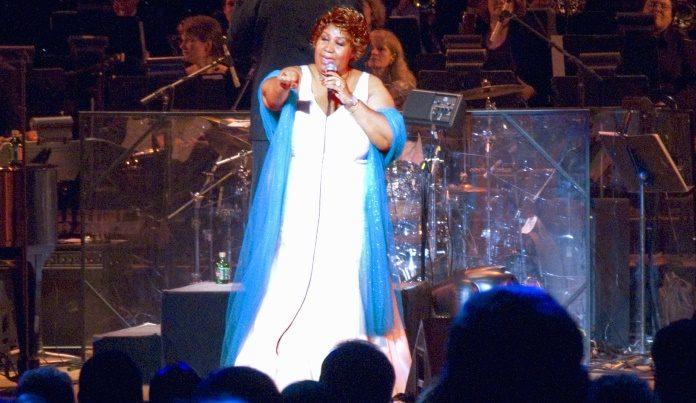 Aretha Franklin ao vivo em 2004