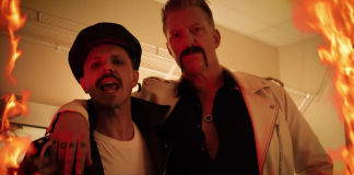 Jake Shears - Big Bushy Moustache