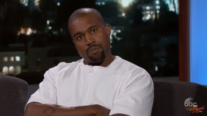 Kanye West no programa de Jimmy Kimmel