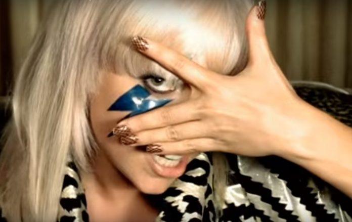Lady Gaga no clipe de